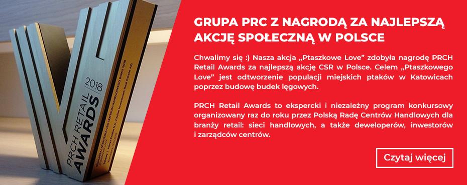 Grupa PRC z nagrodą za najlepszą akcję społeczną w Polsce.